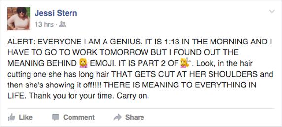 Un joven resuelve el enigma del Emoji de la 'rubia pija' tras una noche en vela