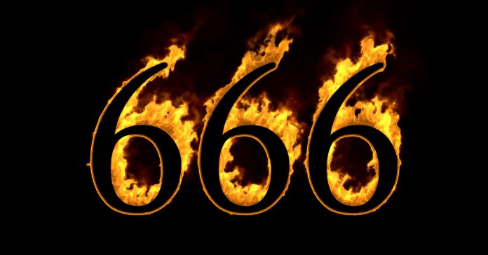sabes por que el 666 es el numero del diablo banner