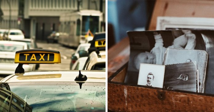 taxista y anciana banner