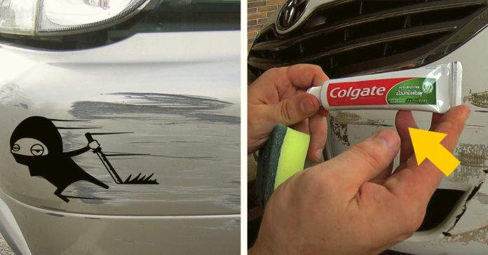 trucos para la eliminacion de aranazos de pintura de coches con remedios caseros banner