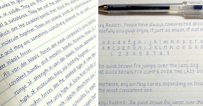 20 ejemplos de caligrafia perfecta que hace disfrutar ojos banner