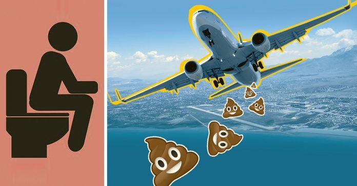 es verdad que los aviones se deshacen de nuestras cacas lanzandolas al aire banner