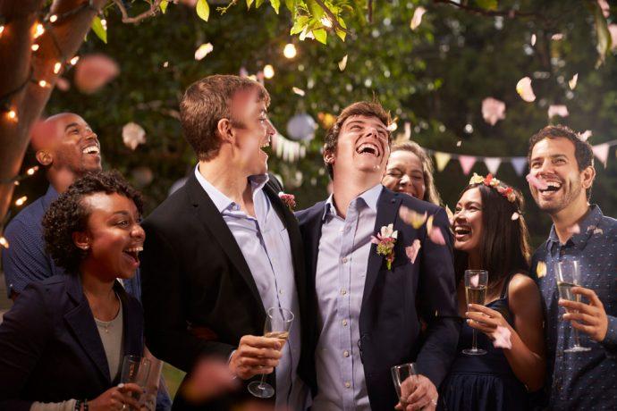 fiesta amigos boda