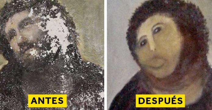 las 7 peores restauraciones de la historia que dejaron al mundo sin palabras banner