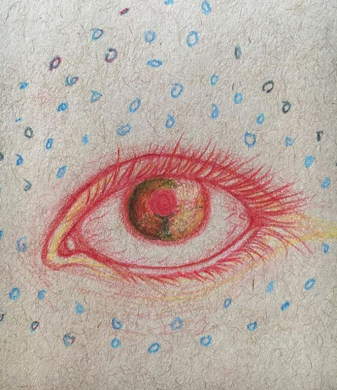 11 Imágenes de las alucinaciones que ha dibujado una chica tras detectarle esquizofrenia con 17 años