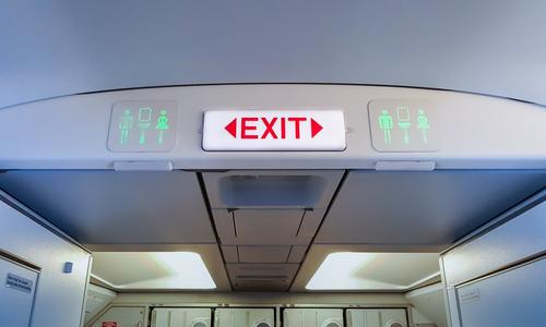 El Destino de los excrementos del avión provoca un revuelo sin gustar ni un pelo
