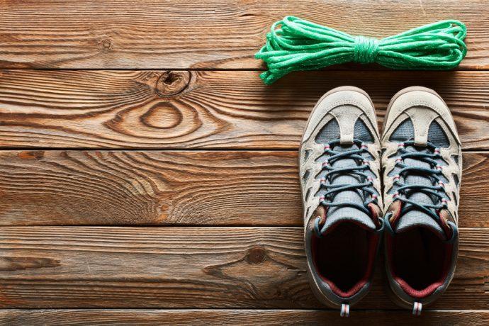 zapato cuerda