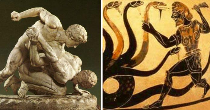 8 muertes increiblemente extranas de la antigua grecia banner