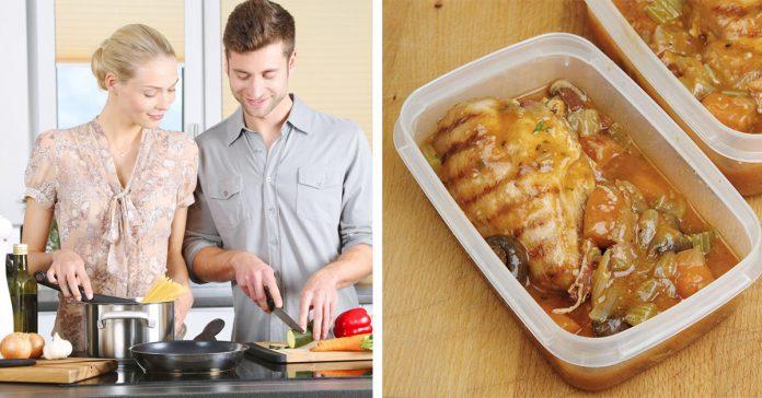 alimentos que puedes preparar el domingo para tener las comidas del resto de la semana banner