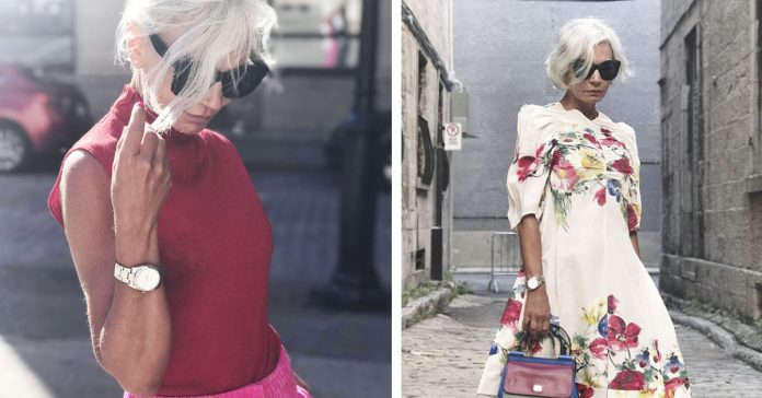 conoce a grece ghanem una instagramer de 52 anos que tiene mucho estilo banner