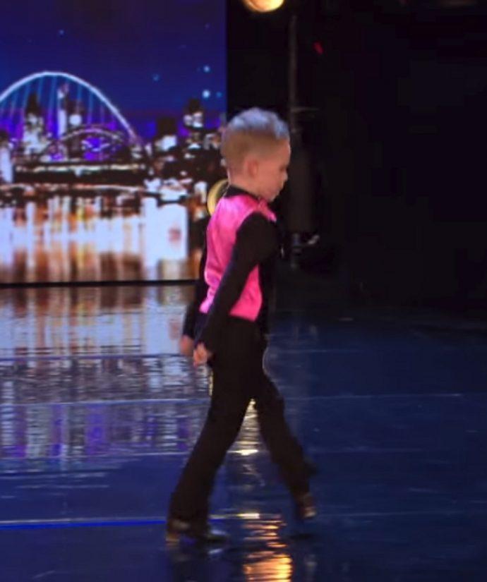 Un niño de 6 años casi gana el botón dorado con su actuación en Got Talent tras ganarse el respeto de los expertos