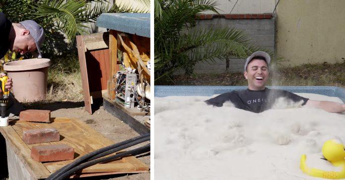 un ex ingeniero de la nasa ha conseguido crear una piscina de agua banner