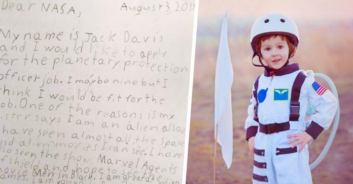 un nino de 9 anos pide trabajo en la nasa y asi es como le respondieron banner