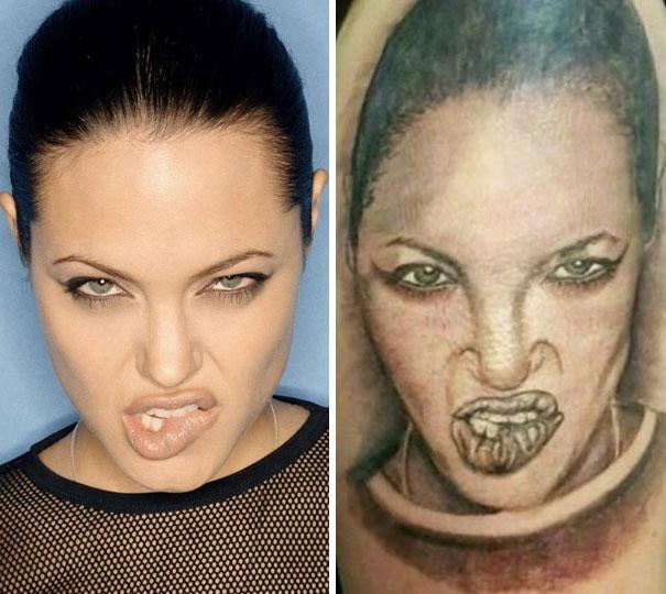 20 Desastrosos tatuajes que no salieron como pensaban y que se arrepintieron nada más verlos