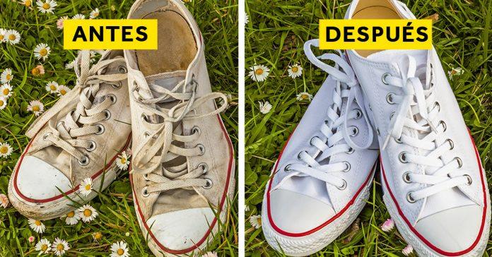 4 pasos limpiar zapatillas banner