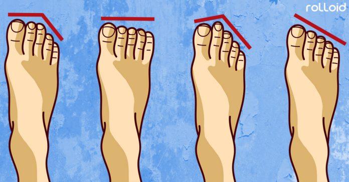 4 tipos personalidad segun forma pies banner