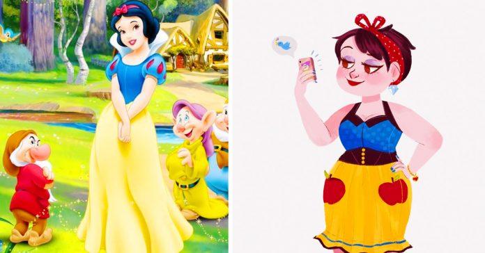 conoce a la version del siglo xxi de las princesas disney banner