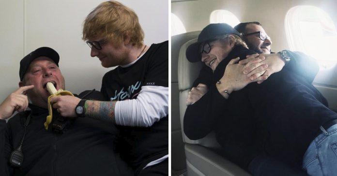 el guardaespaldas de ed sheeran publica en su cuenta de instagram la peculiar relacion que mantienen banner
