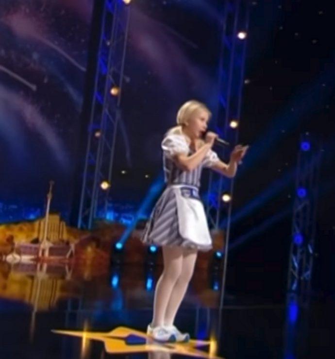 Una chica de 11 años triunfa en televisión con la actuación de Got Talent que hizo reír y bailar al jurado