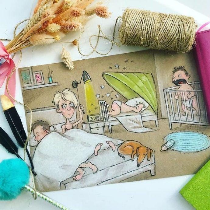 10 Imágenes de una madre rusa que muestra los típicos problemas a los que se enfrenta a diario