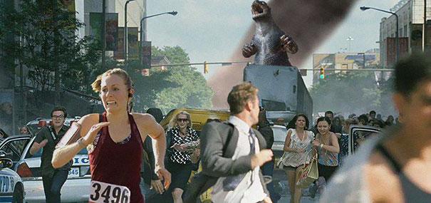 10 Memes que ha creado un hombre con la foto de la victoria de su mujer en una carrera