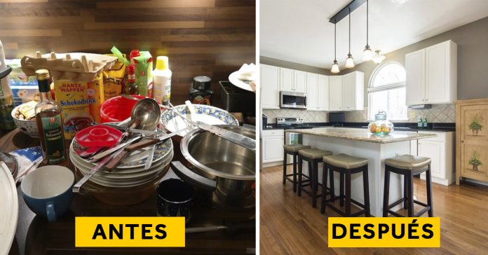10 trucos para que tu cocina no parezca un desastre.banner