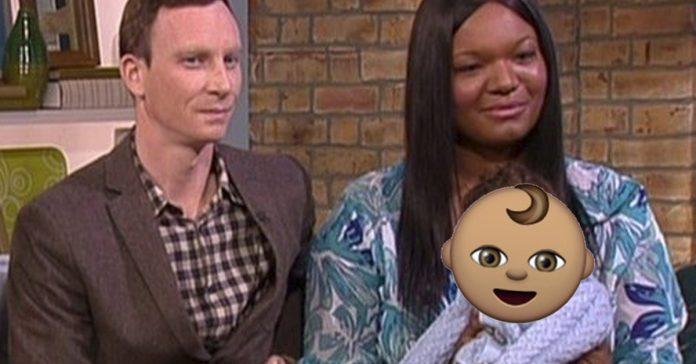 el bebe de esta pareja es unico entre un millon