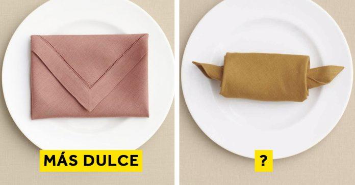 el color de tu servilleta puede afectar sabor comida banner