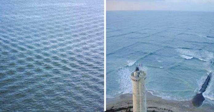 el peligro de los olas cuadradas banner