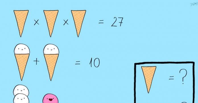 el problema matematico del helado que ha dejado a todo el mundo sin respuesta banner