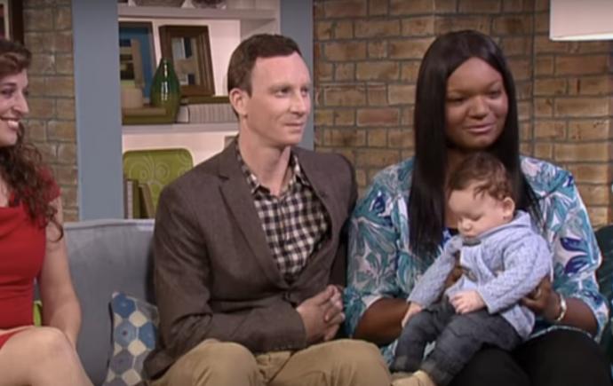 El bebé de una pareja inglesa se viraliza al ser único entre un millón