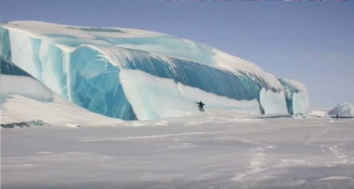 stripped iceberga