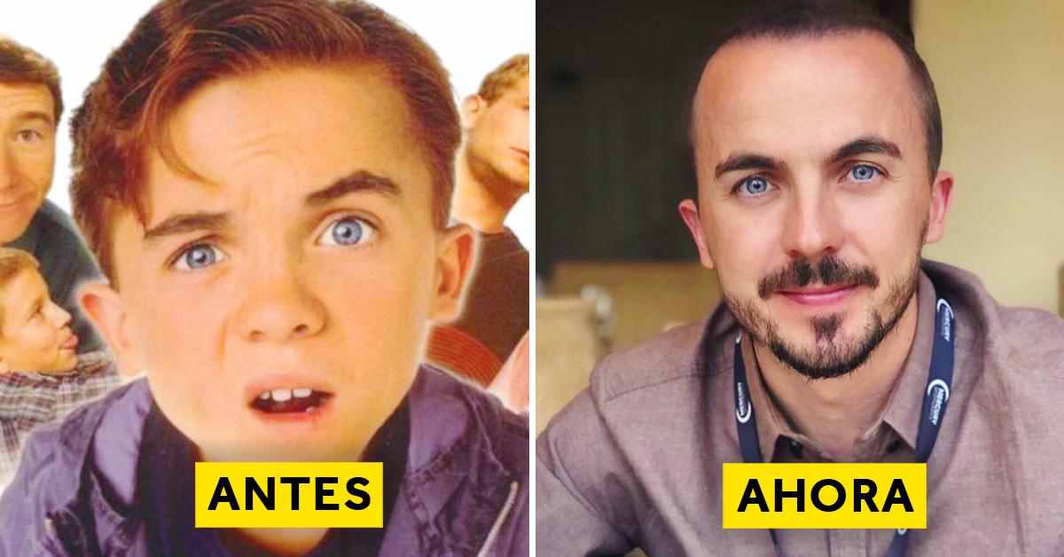 10 Imágenes que muestran la transformación de famosos actores de los 90 más de 15 años después