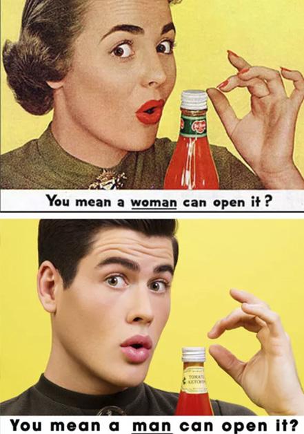 el increible machismo con el que se exponian los roles de genero en la publicidad 05