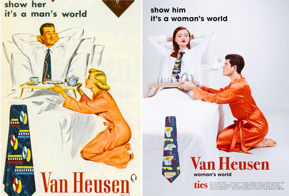 el increible machismo con el que se exponian los roles de genero en la publicidad01