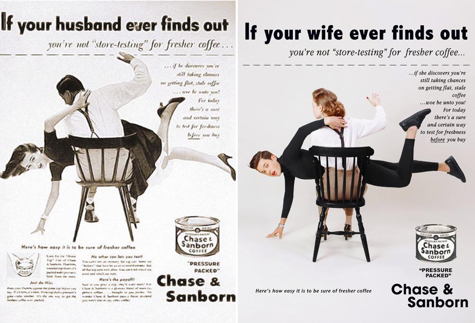 el increible machismo con el que se exponian los roles de genero en la publicidad04