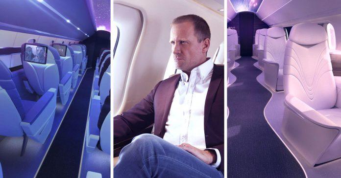 esta aerolinea privada te permitira volar en primera clase por el precio de un billete economico banner