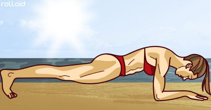 la playa es tu gimnasio circuito 30 minutos banner