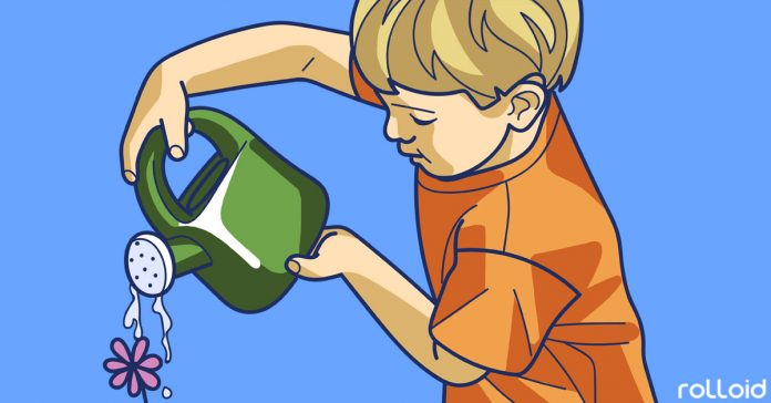 tareas hijo tabla montessori
