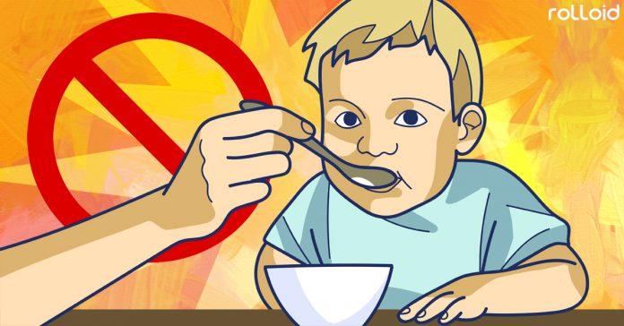 alimentos que no deberias dar hijos banner