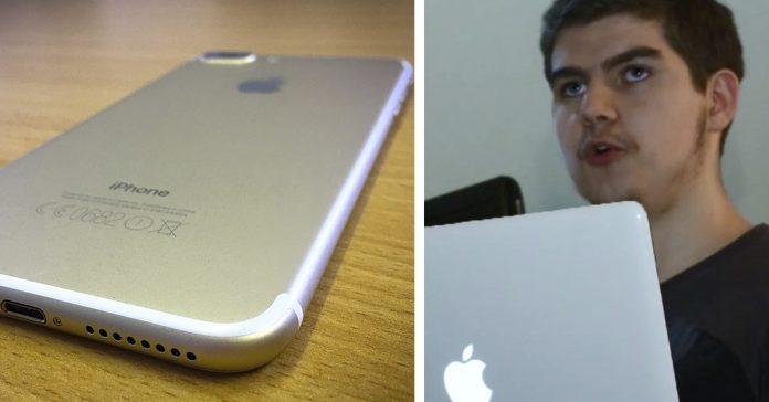 un chico 18 anos destapa engano apple banner