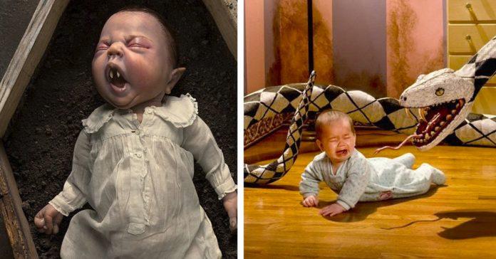 13 aterradoras imagenes del artista que usa a su propia hija banner