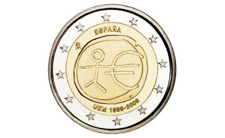 Las 7 Monedas de 2 euros que podríamos tener en la cartera y que se venden en Internet por 3.000 euros
