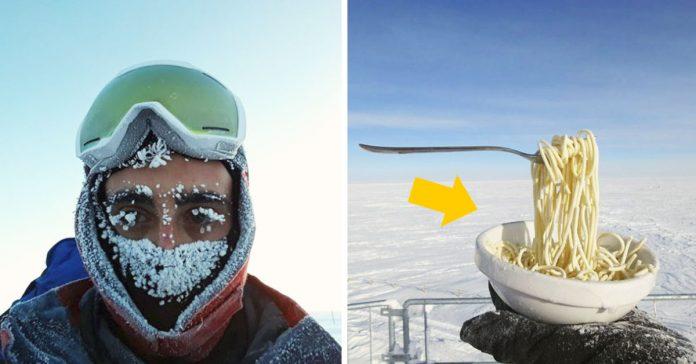 el astrobiologo intenta cocinar en la antartida a 70oc banner