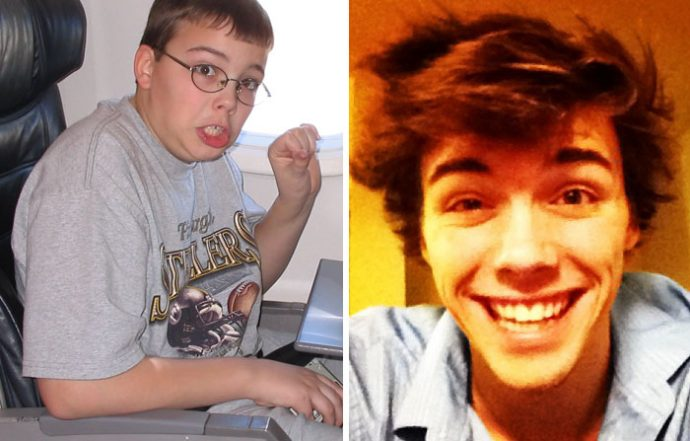 """20 """"Patitos feos"""" que dieron un giro radical tras superar la pubertad con éxito"""