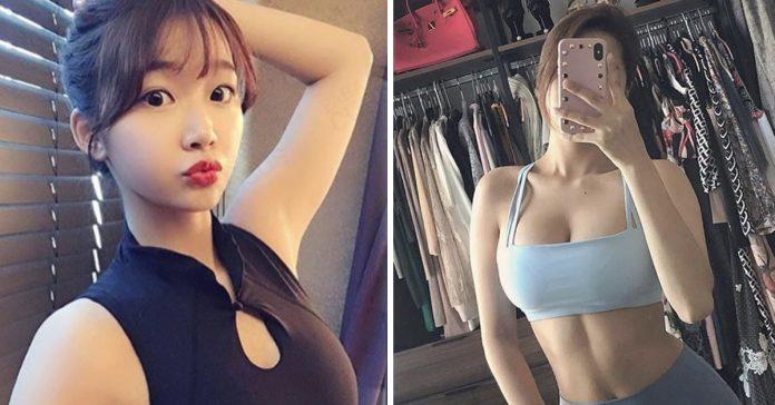 gao qian la chica que asegura tener mejor cuerpo que kim kardashian