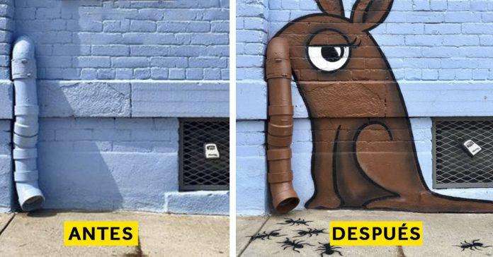 hay un artista callejero banner