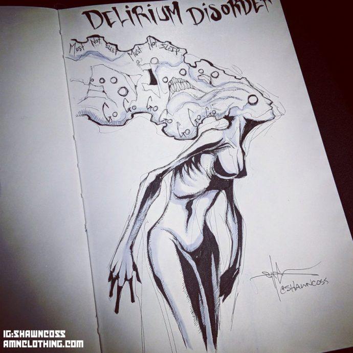 24 Ilustraciones del artista que ha dibujado los trastornos y enfermedades mentales más famosas para combatirlas