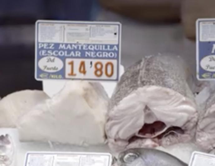 """""""Produce efectos adversos"""" Chicote pone en evidencia a las pescaderías por la venta 'ilegal' del Pez Mantequilla"""
