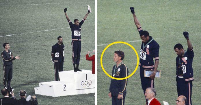 la desgarradora historia del tercer hombre de la famosa foto de los juegos olimpicos de 1968 banner